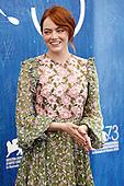 Emma Stone at the Venice Film Festival