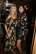 LUCY SIDDIQI; TIJAN SERENA, spotted at Bloom & Wild's exclusive event at 5 Hertford Street last night. 5 September 2017. The event was announcing the new partnership between the UK's most loved florist, Bloom & Wild and British floral design icon Nikki Tibbles Wild at Heart. Cocooned in swaths of vibrant Autumn blooms, guests enjoyed floral-inspired cocktails from Sipsmith and bubbles from Chandon, with canapés put on by 5 Hertford Street. Three limited edition bouquets from the partnership can be bought through Bloom & Wild's website from the 1st September.  bloomandwild.com/WAH
