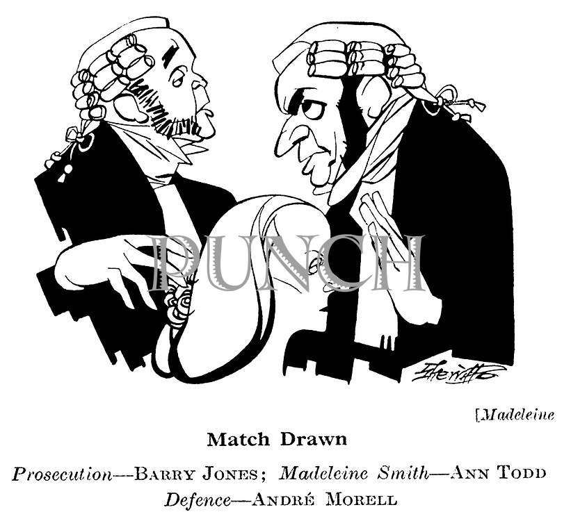 Madeleine ; Barry Jones , Ann Todd and Andre Morell