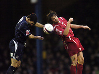 Photo: Olly Greenwood/Sportsbeat Images.<br />Southend United v Swindon Town. Coca Cola League 1. 08/12/2007. Swindon's Craig Easton and Southend's Mark Gower