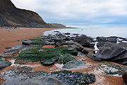 Jurassic Coast Dorset. Stones at Eype Beach