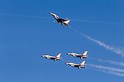 Thunderbirds perform Missing Man pull-up