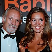NLD/Noordwijk/20110625 - Orange Babies Gala 2011, Frank Wisse en partner Gaby Hingst - de Borst