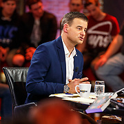 NLD/Hilversum/20171215 - Dick Advocaat te gast bij Voetbal Inside, Wilfred Genee