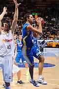 DESCRIZIONE : Bologna Lega Basket A2 2011-12 Conad Biancoblu Basket Bologna Assi Basket Ostuni<br /> GIOCATORE : Tommaso Marino<br /> CATEGORIA : passaggio <br /> SQUADRA : Assi Basket Ostuni<br /> EVENTO : Campionato Lega A2 2011-2012<br /> GARA : Conad Biancoblu Basket Bologna Assi Basket Ostuni<br /> DATA : 06/11/2011<br /> SPORT : Pallacanestro<br /> AUTORE : Agenzia Ciamillo-Castoria/M.Marchi<br /> Galleria : Lega Basket A2 2011-2012 <br /> Fotonotizia : Bologna Lega Basket A2 2011-12 Conad Biancoblu Basket Bologna Assi Basket Ostuni<br /> Predefinita :