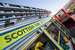 News feature on the nearly all-female firefighting crew based at the Fire Shed, Lochaline, on the Morvern Peninsula.