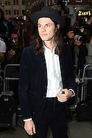 James Bay, GQ Men of the Year Awards 2015, Royal Opera House Covent Garden, London UK, 08 September 2015, Photo by Richard Goldschmidt