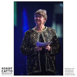 Jenny Brash at the Wellington Region Gold Awards 07 at TSB Arena, Wellington, New Zealand.