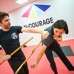 Filipino Martial Arts class, N-Courage, Alloa 7/7/2019