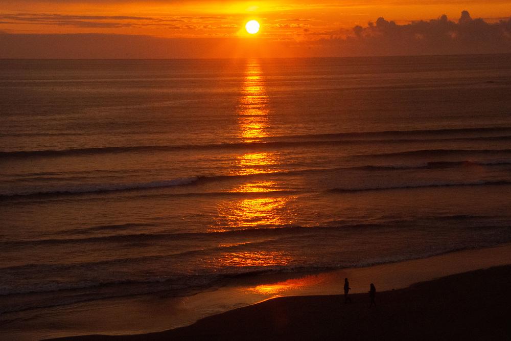 Sunset from Kalaloch, Olympic Peninsula, Washington, US