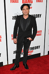May 1, 2019 - JOHNNY GALECKI attends The Big Bang Theory's Series Finale Party at the The Langham Huntington. (Credit Image: © Billy Bennight/ZUMA Wire)