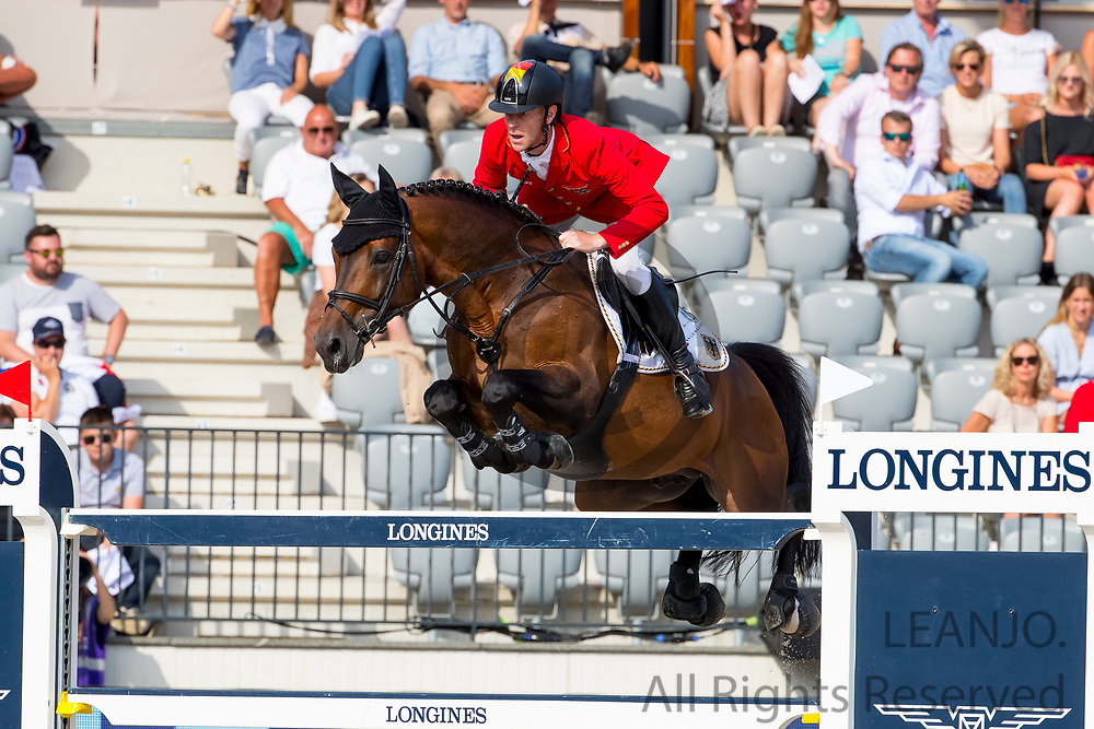 Marcus Ehning - Comme il Faut<br /> FEI European Championships 2019<br /> © DigiShots
