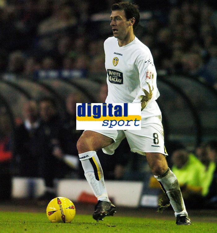 Fotball<br /> Championship England 2004/05<br /> Leeds United v Queens Park Rangers<br /> Elland Road<br /> 20. november 2004<br /> Foto: Digitalsport<br /> NORWAY ONLY<br /> SEAN GREGAN LEEDS UNITED