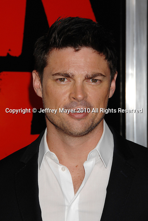 """HOLLYWOOD, CA. - October 11: Karl Urban arrives at the """"Red"""" Los Angeles Screening at Grauman's Chinese Theatre on October 11, 2010 in Hollywood, California."""