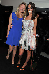 Left to right, KIRSTY HAMILTON-SMITH and ALEX PAKENHAM at the Warner Music Group Post Brit Awards Party in Association with Samsung held at The Savoy, London on 20th February 2013.