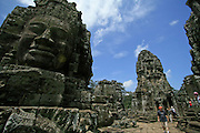Cambodia has a long history with beautiful nature and ancient remains known as Angkor Wat in Siem Reap.