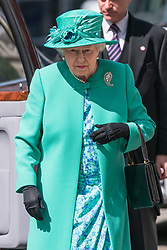May 24, 2017 - London, London, UK - London, UK. HRH QUEEN ELIZABETH II and the DUKE OF EDINBURGH attends service to mark the of the Order of the British Empire at St Paul's Cathedral. (Credit Image: © Ray Tang/London News Pictures via ZUMA Wire)