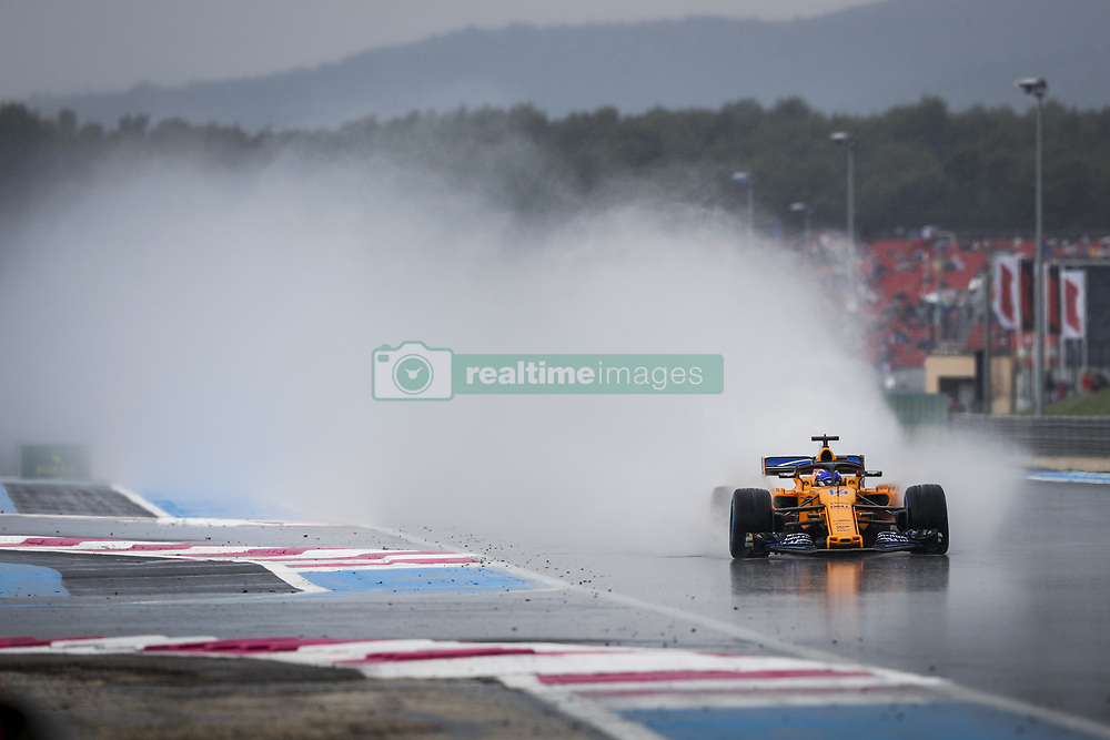 June 23, 2018 - Le Castellet, France - Motorsports: FIA Formula One World Championship 2018, Grand Prix of France, .#14 Fernando Alonso (ESP, McLaren F1 Team) (Credit Image: © Hoch Zwei via ZUMA Wire)