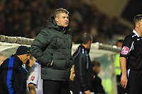 Chris Turner (Hartlepool United Manager)<br /> Hartlepool United vs Leicester City at Victoria Park Hartlepool Football League one<br /> 17/02/2009. Credit Colorsport / Darren Blackman