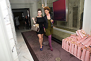 LAURA DOCKRILL; GEMMA CAIRNEY;, Launch of Stephanie Theobald's book' A Partial Indulgence'  drinks provided by Ruinart champage nd Snow Queen vodka. The Artesian at the Langham, 1c Portland Place, Regent Street, London W1