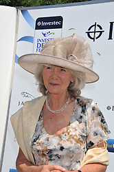 JILLY COOPER at the Investec Derby at Epsom Racecourse, Epsom Downs, Surrey on 4th June 2011.