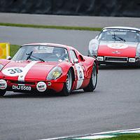 Royal Automobile Club Tourist Trophy, Official Practice, Saturday 10h55<br /> #35 - 1965 Porsche 904 Carrera GTS; #27 - 1965 Porsche 904 Carrera GTS at Goodwood SpeedWeek 16 - 18 October 2020