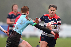 Lucy Attwood of Bristol Ladies - Mandatory by-line: Paul Knight/JMP - 03/02/2018 - RUGBY - Cleve RFC - Bristol, England - Bristol Ladies v Harlequins Ladies - Tyrrells Premier 15s
