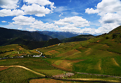 August 3, 2017 - Shangri-La, Shangri-La, China - Shangri-La, CHINA-August 3 2017: (EDITORIAL USE ONLY. CHINA OUT) Shangri-La, formerly known as Zhongdian County, is the capital of Diqing Tibetan Autonomous Prefecture of south China's Yunnan Province. Shangri-la is a Tibetan word meaning 'a land of sacredness and peace'. Shangri-La is unique for its Tibetan culture and alpine landscapes including sacred snow-capped mountains and spectacular gorges. (Credit Image: © SIPA Asia via ZUMA Wire)