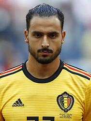 Nacer Chadli of Belgium during the 2018 FIFA World Cup Play-off for third place match between Belgium and England at the Saint Petersburg Stadium on June 26, 2018 in Saint Petersburg, Russia