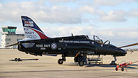 Royal Navy British Aerospace Hawk Royal Naval Air Station Yeovilton Base Tour, UK, 25 November 2010: piQtured Sales: Ian@Piqtured.com +44(0)791 626 2580 (picture by Richard Goldschmidt)