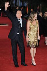 Tom Hanks, Rita Wilson attending the Tom Hanks Lifetime Achievement Award held during Roma Cinema Fest 2016 in Italy.