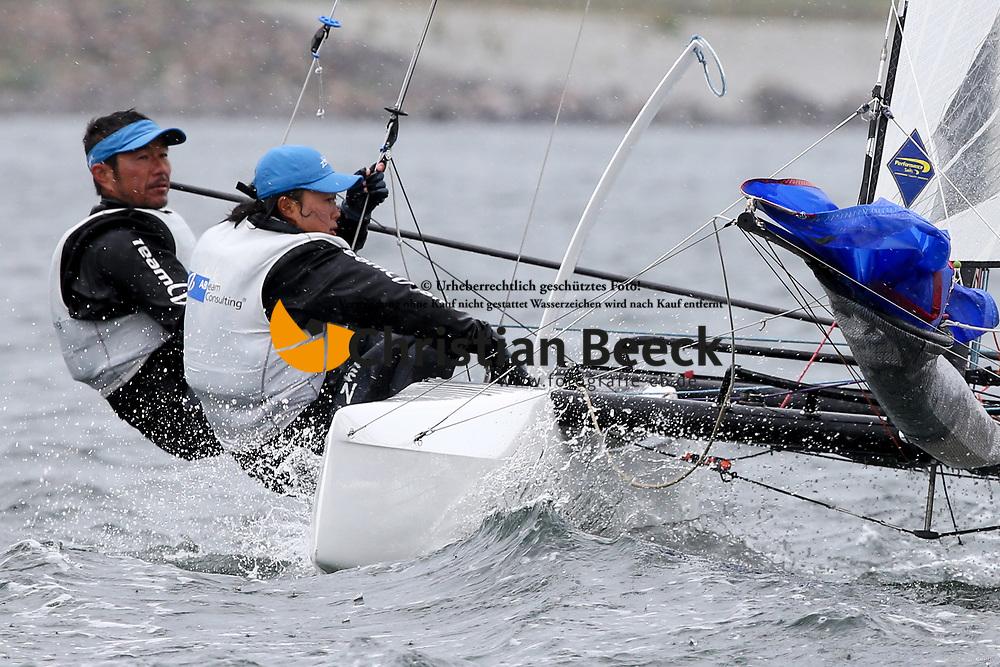 , Kiel - Kieler Woche 20. - 28.06.2015, Nacra 17 - JPN 249 - Goto, Hiroki