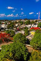 Overviews from the Key West Lighthouse, Key West, Florida Keys, Florida USA