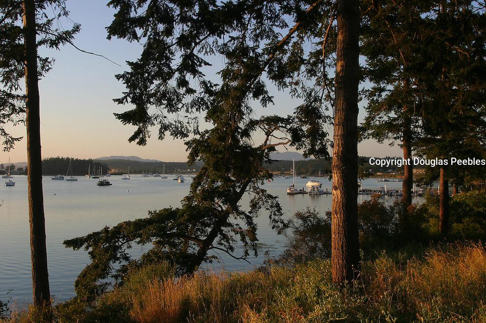 Fisherman Bay, Lopez Island, San Juan Islands, Washington<br />