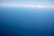 Nederland, Windmolens, 01-09-2018<br /> Een windmolenpark in de Noordzee.<br /> <br /> A wind mill park in the North Sea.<br /> Foto: Bas de Meijer / De Beeldunie