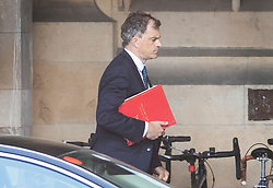 © Licensed to London News Pictures. 05/09/2019. London, UK. Northern Ireland Secretary Julian Smith walks in Parliament. Photo credit: Peter Macdiarmid/LNP