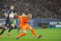 FOOTBALL - FRENCH CHAMPIONSHIP 2011/2012 - L1 - PARIS SAINT GERMAIN v AS SAINT ETIENNE - 2/05/2012 - PHOTO JEAN MARIE HERVIO / DPPI - STEPHANE RUFFIER (ASSE)