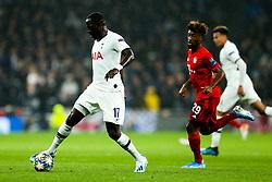 Moussa Sissoko of Tottenham Hotspur in action - Rogan/JMP - 01/10/2019 - FOOTBALL - Tottenham Hotspur Stadium - London, England - Tottenham Hotspur v Bayern Munich - UEFA Champions League Group B.