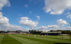 LIVERPOOL, ENGLAND - Wednesday, September 15, 2021: A general view during the UEFA Youth League Group B Matchday 1 game between Liverpool FC Under19's and AC Milan Under 19's at the Liverpool Academy. Liverpool won 1-0. (Pic by David Rawcliffe/Propaganda)