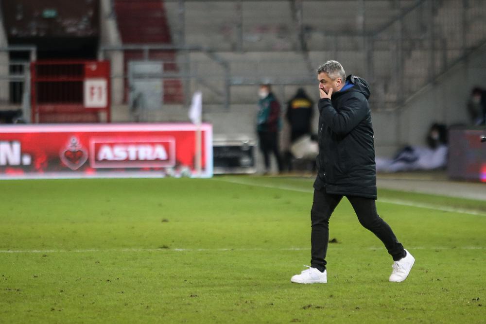 Fussball: 2. Bundesliga, FC St. Pauli - VFL Bochum, Hamburg, 28.01.2021<br /> Trainer Thomas Reis (Bochum)<br /> © Torsten Helmke