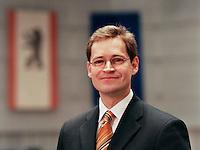 09 JAN 2004, BERLIN/GERMANY:<br /> Michael Mueller, SPD Fraktionsvorsitzender im Berliner Abgeordnetenhaus, Preussischer Landtag<br /> IMAGE: 20040109-01-02-14<br /> KEYWORDS: Michael Müller