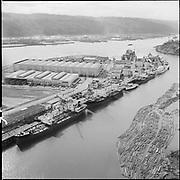 "ackroyd-P300-25 ""Continental ship repair yard & steamer Portland. April 3, 1967"" (Swan Island)"