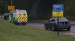 """Widely,Portsmouth  Sunday 2nd May 2016  Police are  appealing for help to piece together the last moments of a female biker who sadly  died following a fatal crash involving a motorbike this afternoon in Portsmouth .<br /> <br /> Emergency services were called to the incident just before 3pm today(Monday May 2)<br /> <br /> The lady in her 40 from the South London area was riding a black motorbike along the A3 London Road towards Widley when her machine collided with the central kerb parallel to The George Inn.<br /> <br /> <br /> A rapid response paramedic and ambulance  crew were both sent to the scene and attempted to carry out life saving treatment on the woman at the side of the road was carried out  before she was rushed to QA hospital  but despite these efforts the woman  sadly died.<br /> <br /> <br /> <br /> Police believed that the woman may  suffered some sort medical episode prior to the crash from speaking to witnesses and don't believe that speed was a factor.<br /> <br /> Police closed off the road for three hours this afternoon to carry out accident investigation work. <br /> <br /> <br /> A spokesman from the Havant Roads Police team of Hampshire Constabulary speaking at the scene  said : """"We are trying to piece together exactly what happened and would appeal for anyone with information to contact us who saw the bike and the woman prior to the crash.<br /> <br /> <br /> <br /> <br /> """"Even the smallest piece of information could help us build a picture of what happened.<br /> <br /> """"A woman has tragically lost her life and our thoughts are with his family at this very difficult time.""""<br /> <br /> Anyone with information should call police on 101 or Crimestoppers, in confidence, on 0800 555 111. @UKNIP"""