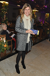 KATIE ELLIOT at the Quintessentially Foundation and The Crown Estate's Fayre of St.James' on 27th November 2014.  The evening started with a christmas concert at St.James's Church, Piccadilly.  Following the concert singer Leona Lewis switched on the Jermyn Street Christmas lights and then guests had a party at the newly refurbished Quaglino's, 16 Bury Street, London