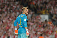 Barcelona´s goalkeeper Ter Stegen during 2014-15 Copa del Rey final match between Barcelona and Athletic de Bilbao at Camp Nou stadium in Barcelona, Spain. May 30, 2015. (ALTERPHOTOS/Victor Blanco)