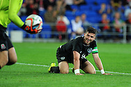 Ireland's Shane Long looks on after missing a chance at goal.Friendly football international match, Wales v Republic of Ireland at the Cardiff city Stadium in Cardiff,  South Wales on Wed 14th August 2013. pic by Andrew Orchard,  Andrew Orchard sports photography,