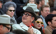 A 29 MG IMAGE OF:..President Lyndon Johnston takes his daughter Lynda Bird  and Chuck Robb to a football game in January 1971.  ..Photo by Dennis Brack  B 8