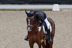 Van Lierop Dana, NED, Gunner Ks<br /> Longines FEI/WBFSH World Breeding Dressage Championships for Young Horses - Ermelo 2017<br /> © Hippo Foto - Dirk Caremans<br /> 06/08/2017