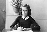 Anne Frank's (1929-1945) world famous diary charts two years of her life from 1942 to 1944, when her family were hiding in Amsterdam from German Nazis. The diary begins just before the family retreated into their 'Secret Annexe'.