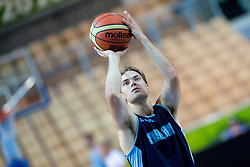 Petteri Koponen of Finnland at practice session of team Finnland 1 day before the beginning of Eurobasket 2013 on September 3, 2013 in Arena Bonifika, Koper, Slovenia. (Photo by Matic Klansek Velej / Sportida.com)